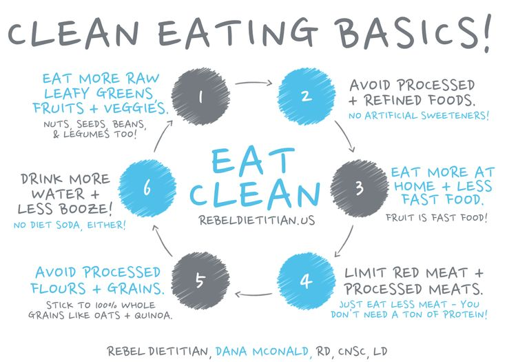 how to stick to eating clean