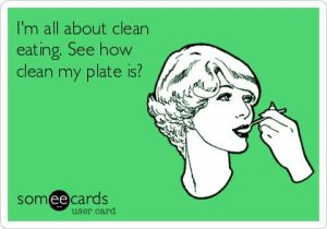 Clean Eating Ecard