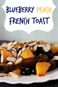 Blueberry Peach French Toast