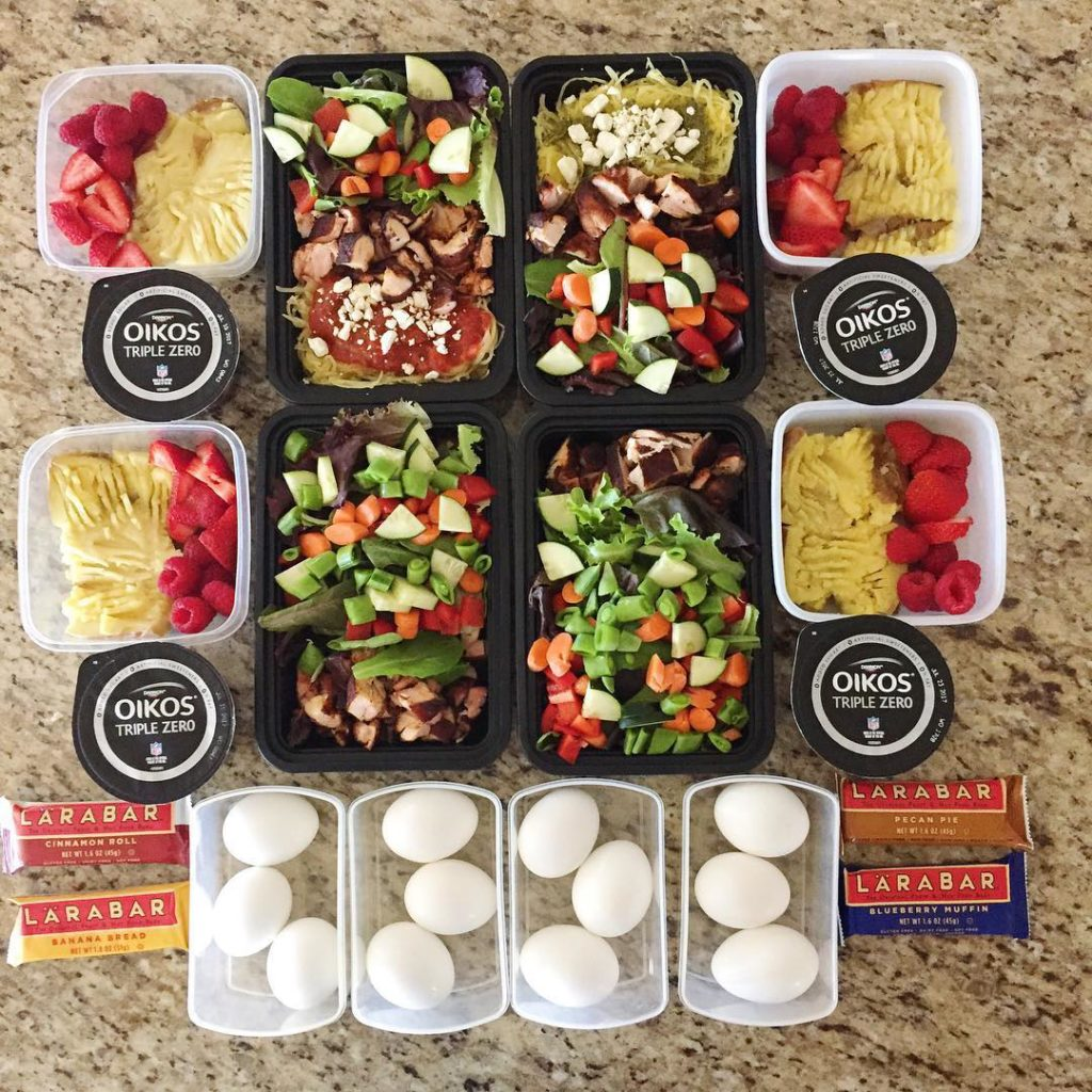 Meal prep Sunday was easy peasy yesterdaymostly because I didhellip