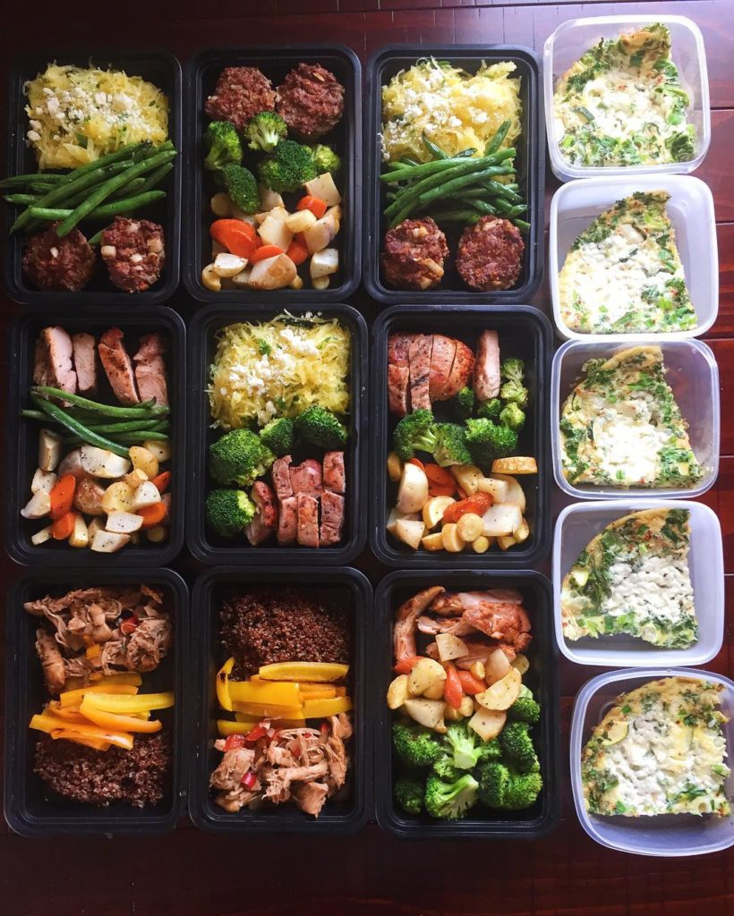 Sunday meal prep was done early enough to have lunchhellip