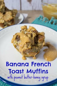 Banana French Toast Muffins-Edit