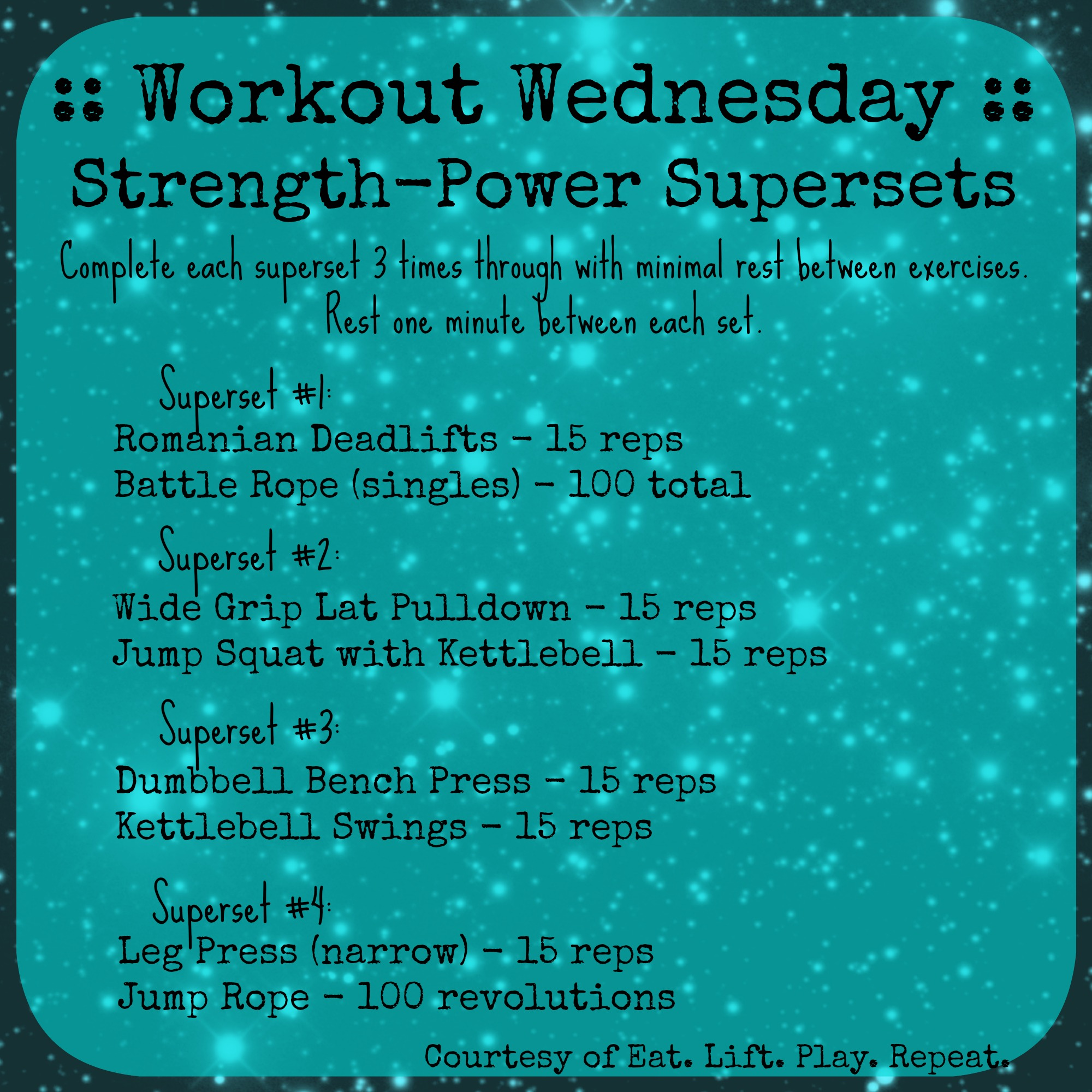 Supersets in Strength Training