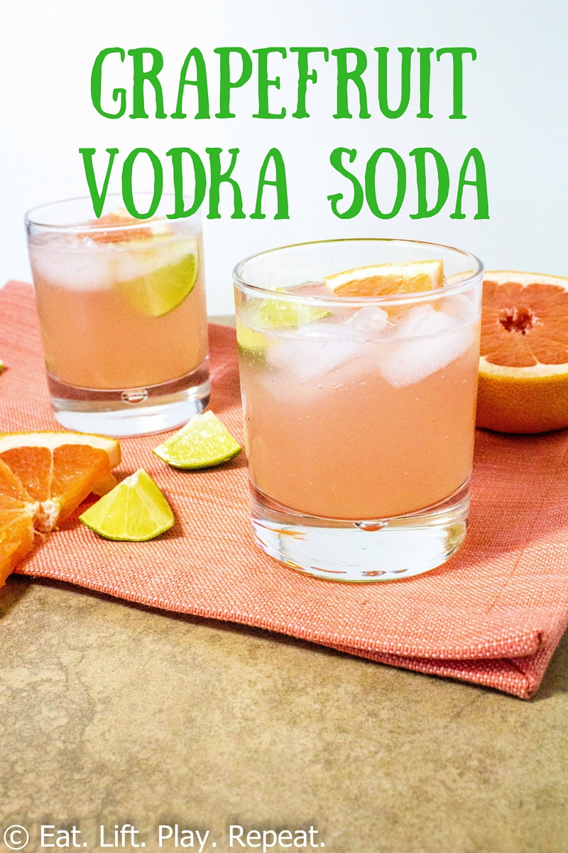 Grapefruit Vodka Soda