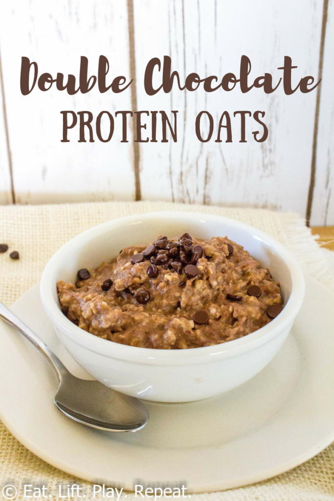 Double Chocolate Protein Oats