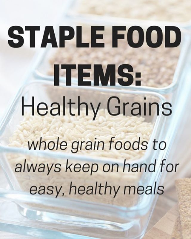 Whole grains are a huge part of my clean eatinghellip