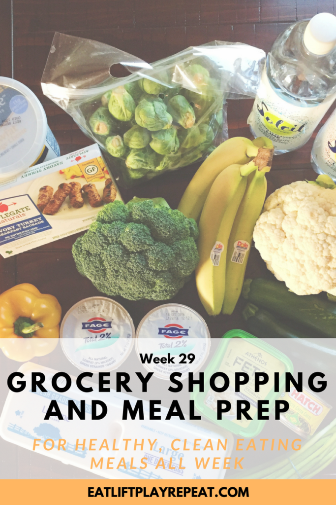 Grocery Shopping & Meal Prep
