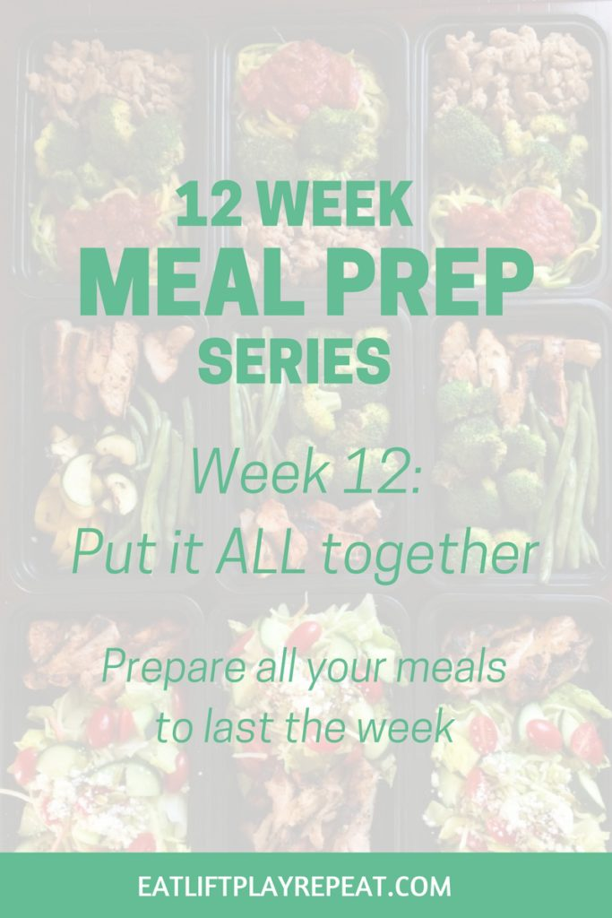 Meal Prep Series