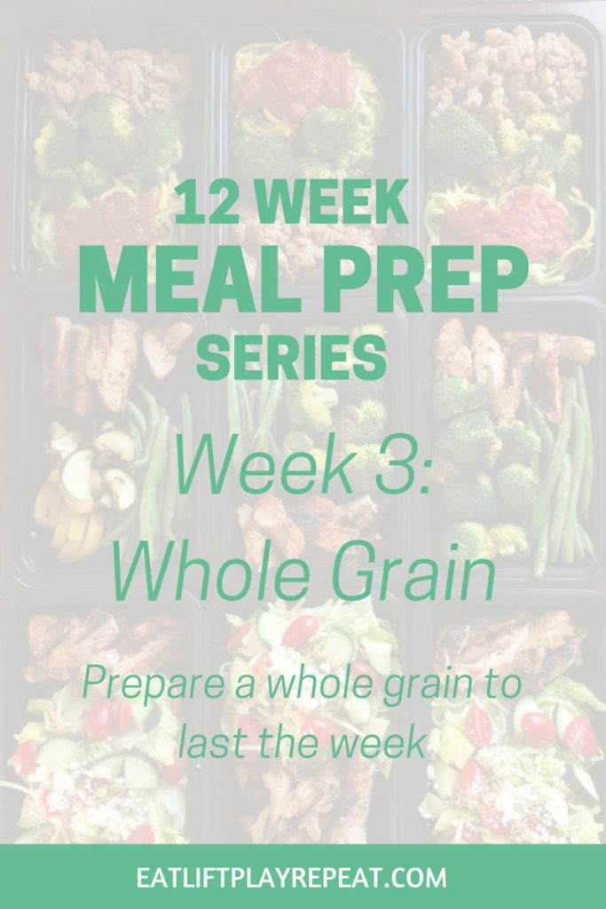 Meal Prep Series Whole Grain