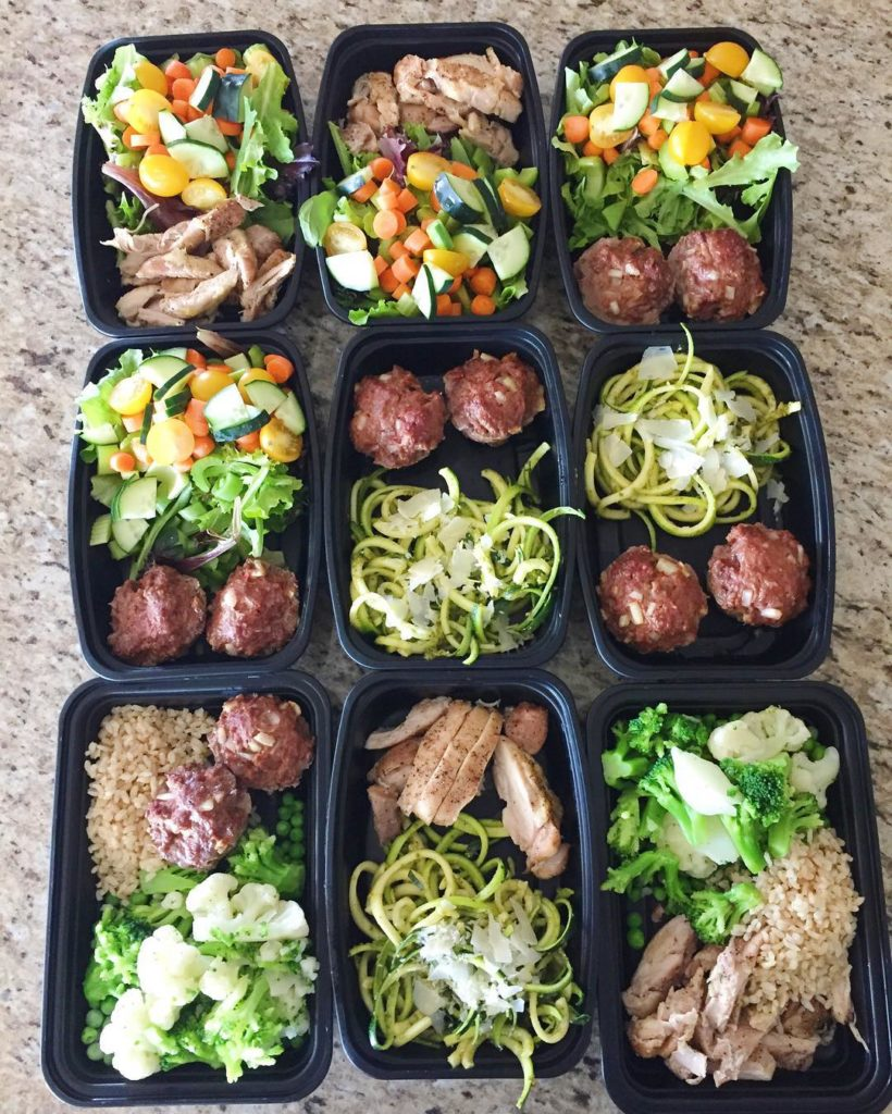 Meal prep from yesterday was simple yet I prepared plentyhellip