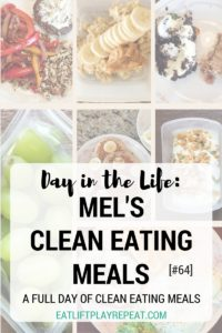 Mel's Clean Eating Meals