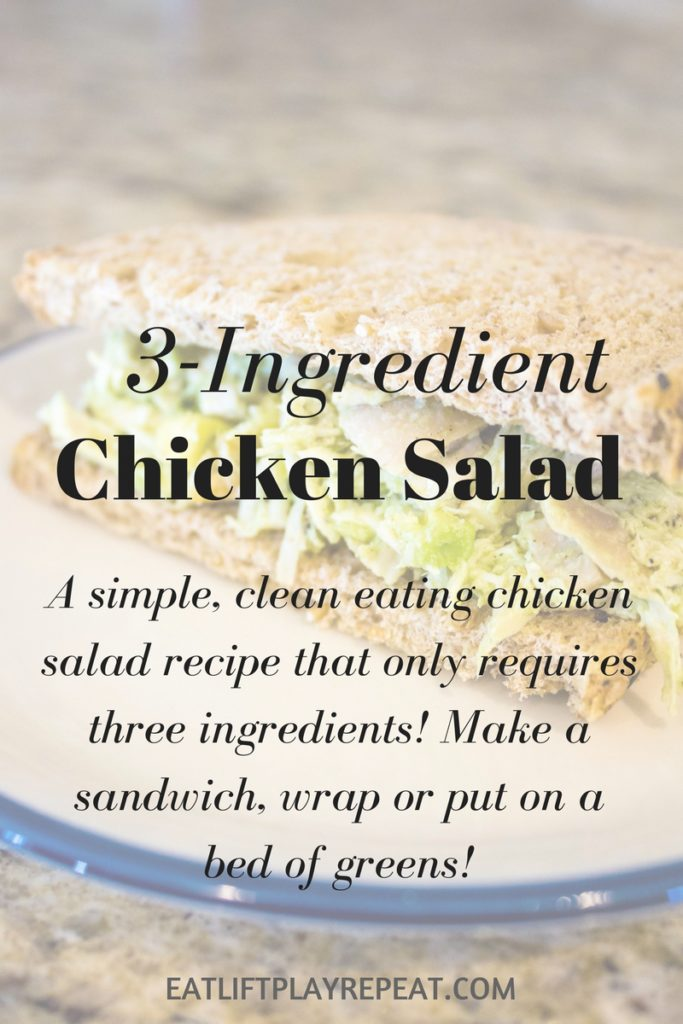3-Ingredient Chicken Salad