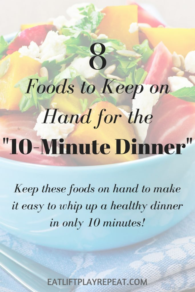 8 Foods to Keep on Hand for the 10-Minute Dinner