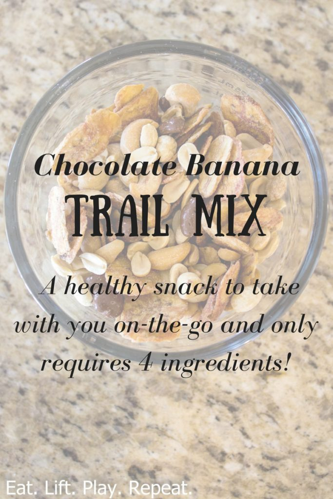 Chocolate Banana Trail Mix