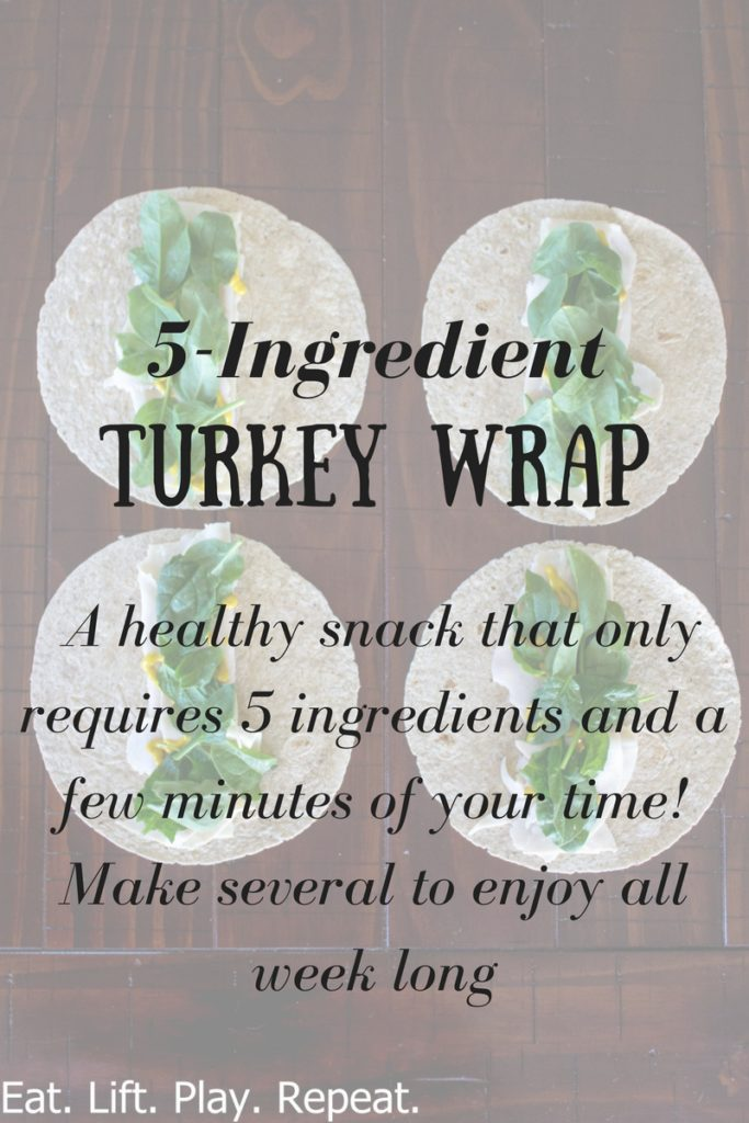 5-Ingredient Turkey Wrap
