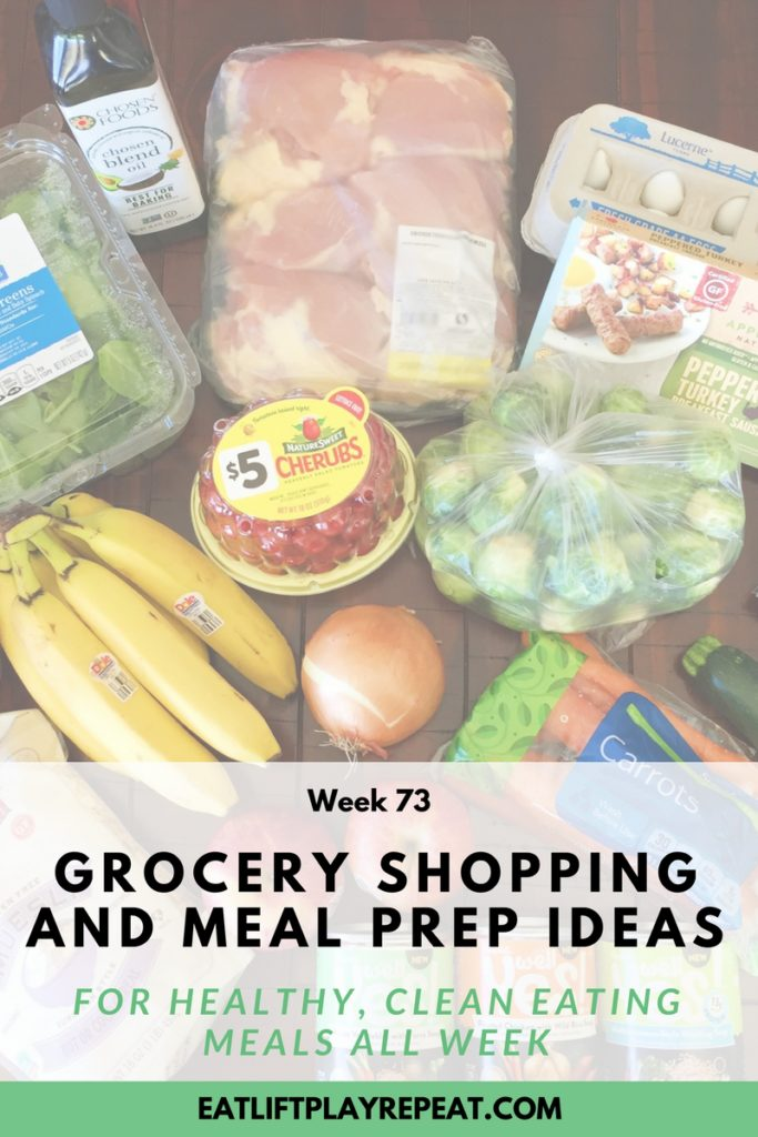 Grocery Shopping & Meal Prep Ideas