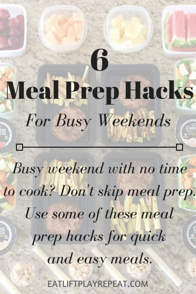 Meal Prep Hacks for Busy Weekends